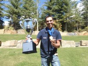Julien Daguillanes, champion du monde de pêche à la mouche
